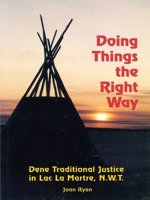 cover image of Doing Things the Right Way