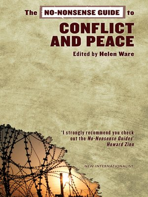 cover image of No-Nonsense Guide to Conflict and Peace