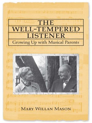 cover image of The Well-tempered Listener
