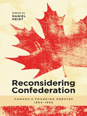 cover image of Reconsidering Confederation