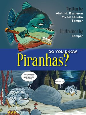 cover image of Do You Know Piranhas?
