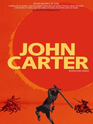 cover image of John Carter: Barsoom Series (7 Novels)