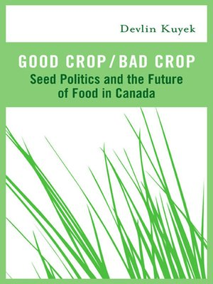 cover image of Good Crop / Bad Crop