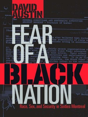 cover image of Fear of a Black Nation