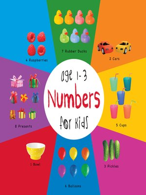 cover image of Numbers for Kids age 1-3