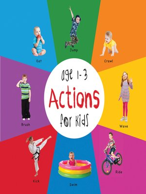 cover image of Actions for Kids age 1-3