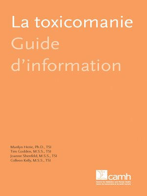 cover image of La toxicomanie