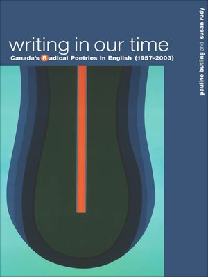 cover image of Writing in Our Time