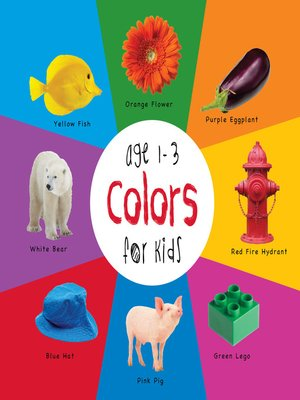 cover image of Colors for Kids age 1-3