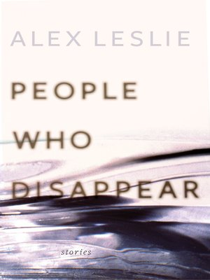 cover image of People Who Disappear