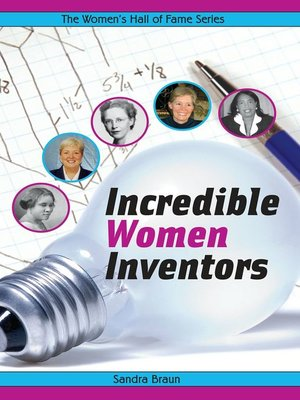 cover image of Incredible Women Inventors