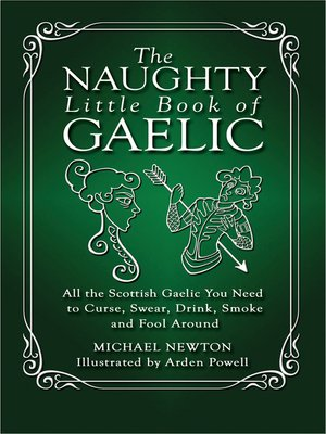 cover image of The Naughty Little Book of Gaelic