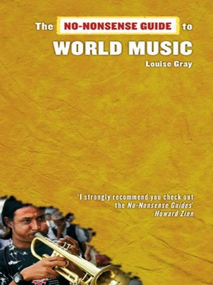 cover image of No-Nonsense Guide to World Music