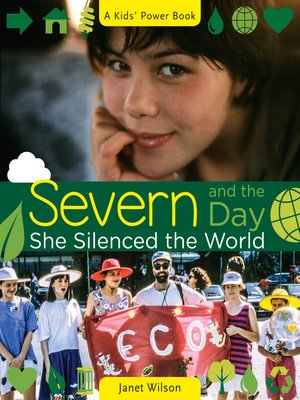 cover image of Severn and the Day She Silenced the World