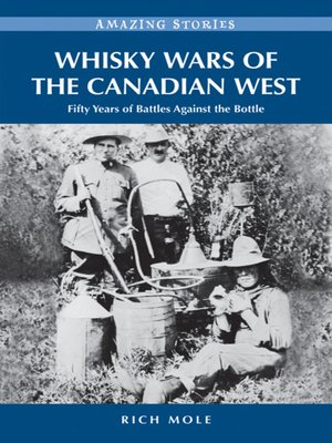 cover image of Whiskey Wars of the Canadian West