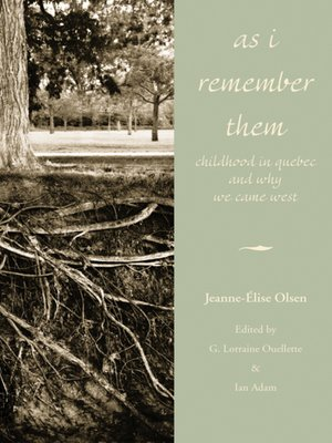 cover image of As I Remember Them