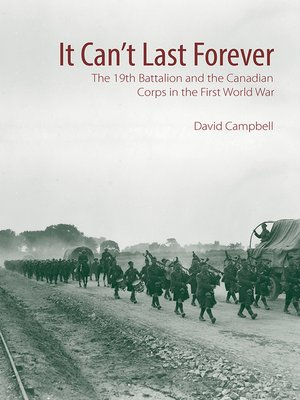 cover image of It Can't Last Forever