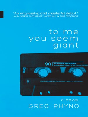 cover image of To Me You Seem Giant