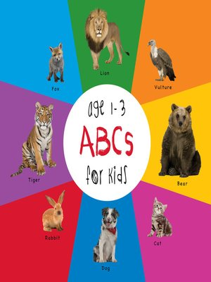 cover image of ABC Animals for Kids age 1-3
