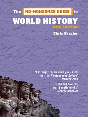 cover image of No-Nonsense Guide to World History