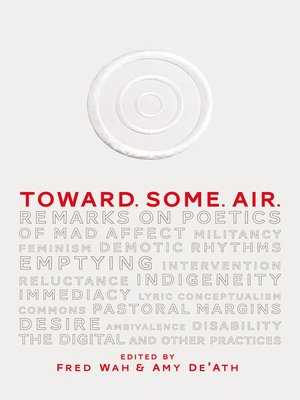 cover image of Toward. Some. Air.