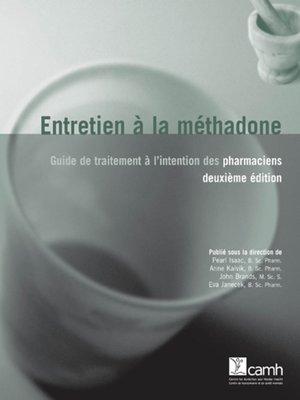 cover image of Entretien à la méthadone