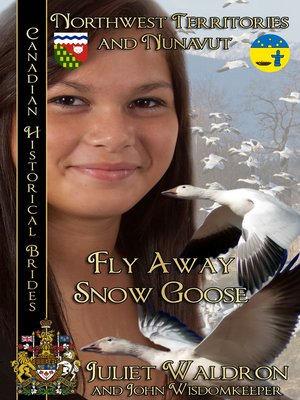 cover image of Fly Away Snow Goose (Nits'it'ah Golika Xah)