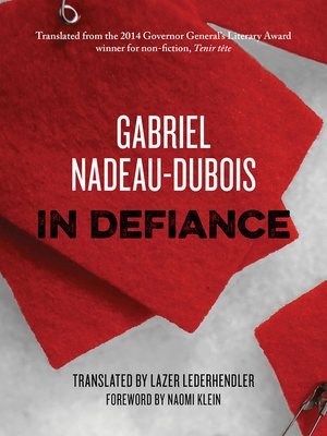 cover image of In Defiance