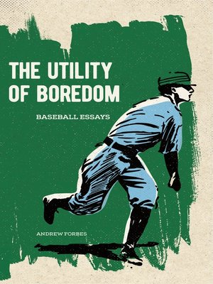 cover image of The Utility of Boredom