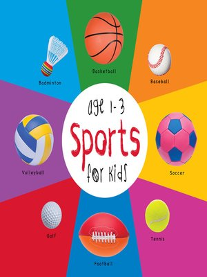 cover image of Sports for Kids age 1-3
