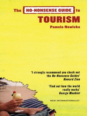 cover image of No-Nonsense Guide to Tourism