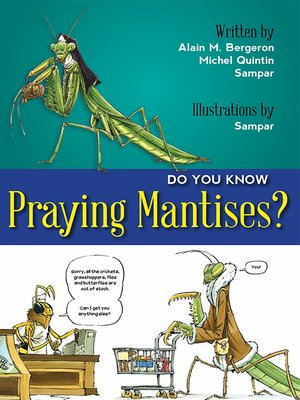 cover image of Do You Know Praying Mantises?