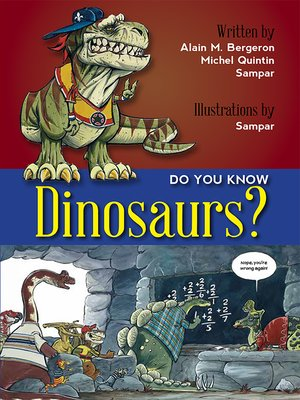 cover image of Do You Know Dinosaurs?