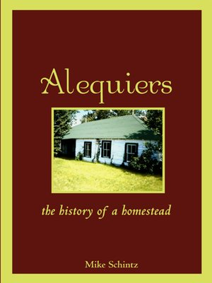 cover image of Alequiers