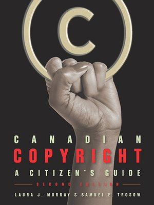 cover image of Canadian Copyright