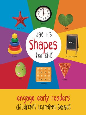 cover image of Shapes for Kids age 1-3