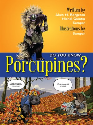cover image of Do You Know Porcupines?