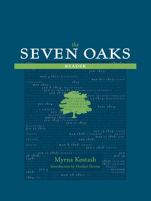 cover image of The Seven Oaks Reader
