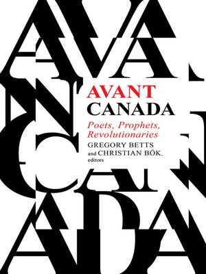 cover image of Avant Canada