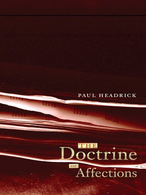 cover image of The Doctrine of Affections