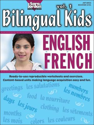 cover image of Bilingual Kids: English-French, Volume 1