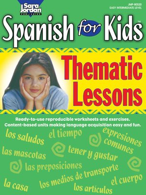 cover image of Spanish for Kids: Thematic Lessons