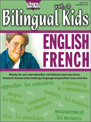cover image of Bilingual Kids: English-French, Volume 2