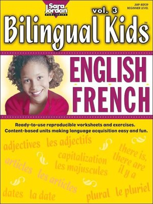 cover image of Bilingual Kids: English-French, Volume 3
