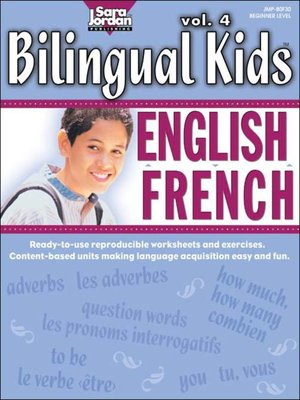 cover image of Bilingual Kids: English-French, Volume 4