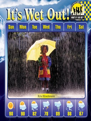 cover image of It's Wet Out!