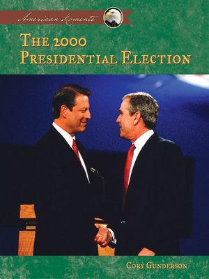 cover image of 2000 Presidential Election