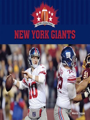 cover image of New York Giants