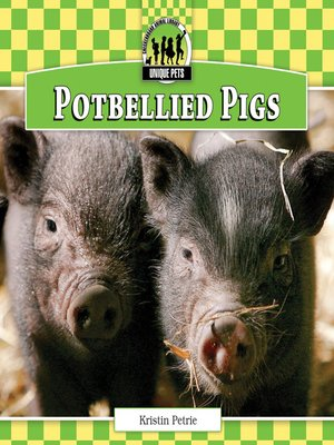 cover image of Potbellied Pigs