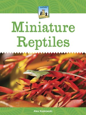 cover image of Miniature Reptiles